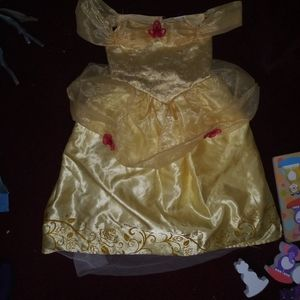 Disney princess belle costume 5/6 size